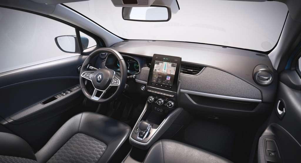 L'intérieur de la nouvelle Renault Zoe est plus cossu. © Renault