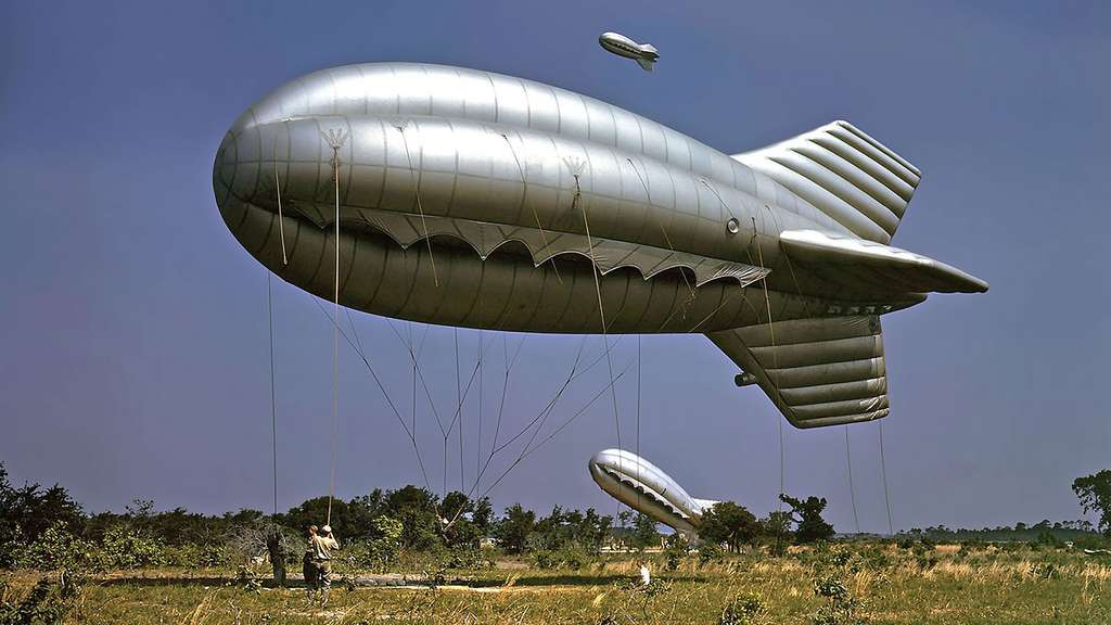 1942 : le ballon barrage