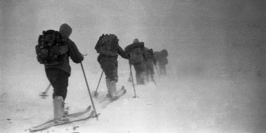 Les randonneurs du groupe de Dyatlov, quelques heures avant le drame qui leur a coûté la vie. © Dyatlov Memorial Foundation