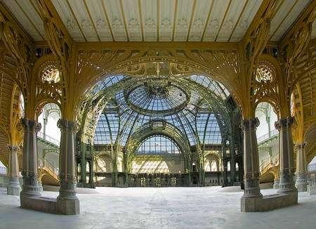 La Nef du Grand Palais, restaurée entre 2000 et 2005. © Coll. Grand Palais, cliché François Tomasi