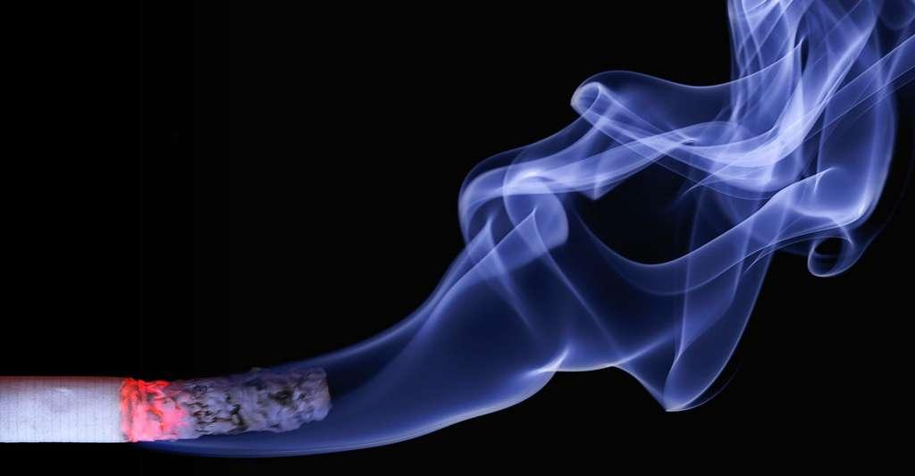 Il y a une augmentation significative du taux de mortalité en fonction des quantités de tabac consommées. © Realworkhard, CC0 Domaine public