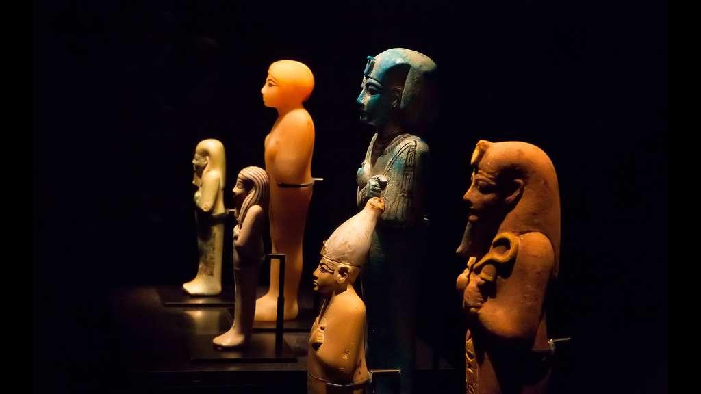 Les serviteurs du pharaon dans l'au-delà