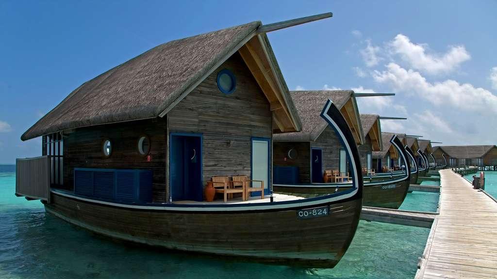 Les villas Dhoni aux Maldives