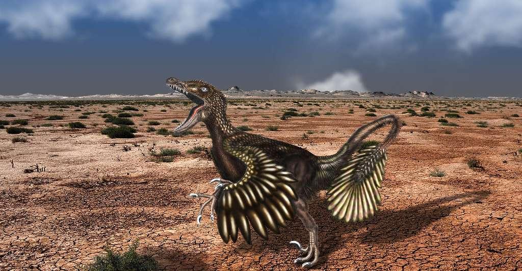 Velociraptor. © Dragos Andrei, CC by-sa 4.0