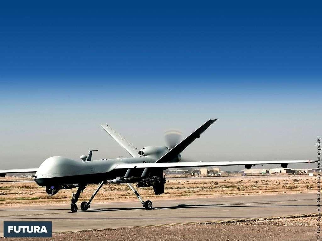 MQ-9 Reaper taxis aériens sans pilote