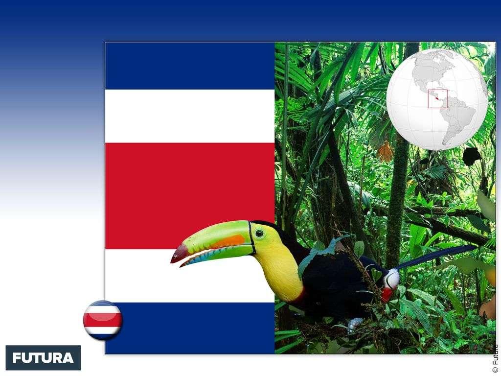 Drapeau : Costa Rica