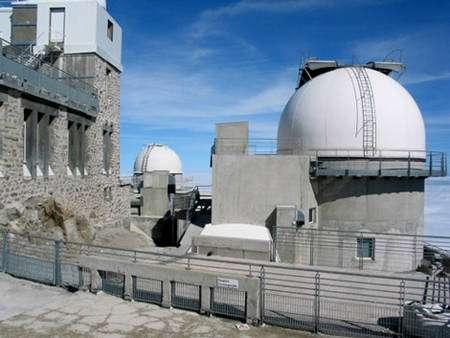 Coupoles de l'observatoire © Pic du Midi