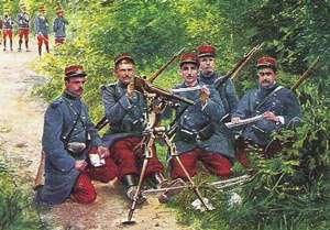 L'uniforme de la guerre de 1914