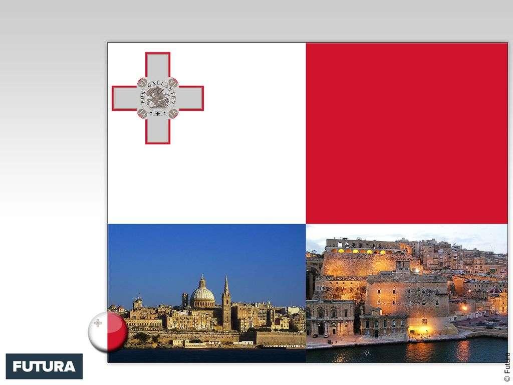 Drapeau : Malte