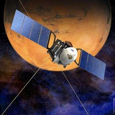 Mars Express. Crédit : Esa