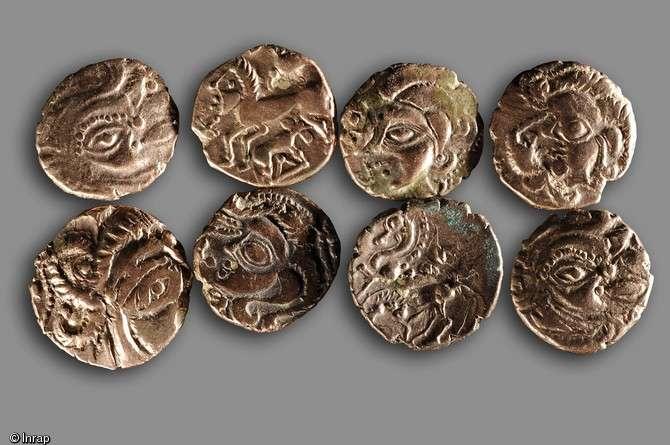 Les pièces gauloises de Laniscat