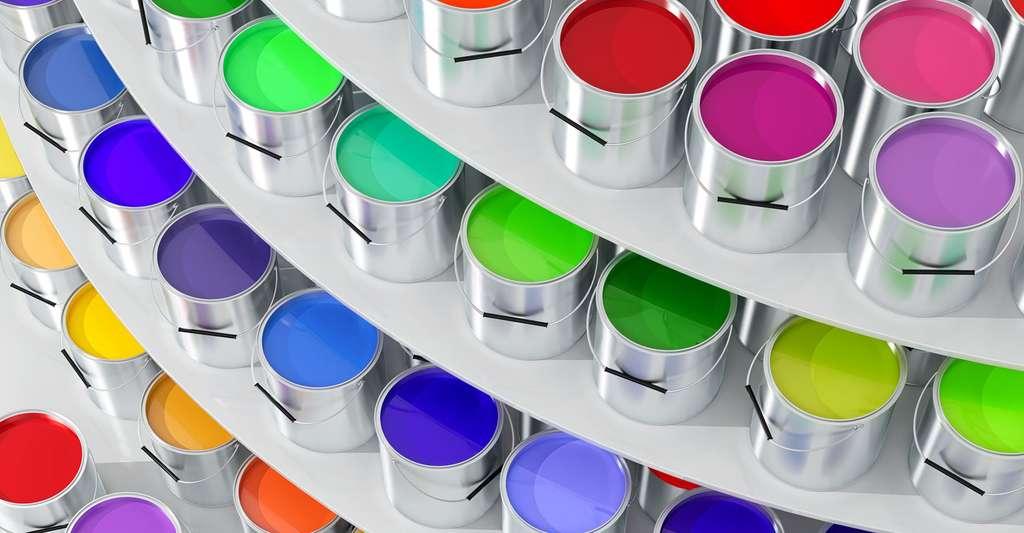Pas toujours facile de s'y retrouver dans le marché des peintures couleurs, car l'offre est impressionnante. © Lightboxx, Fotolia