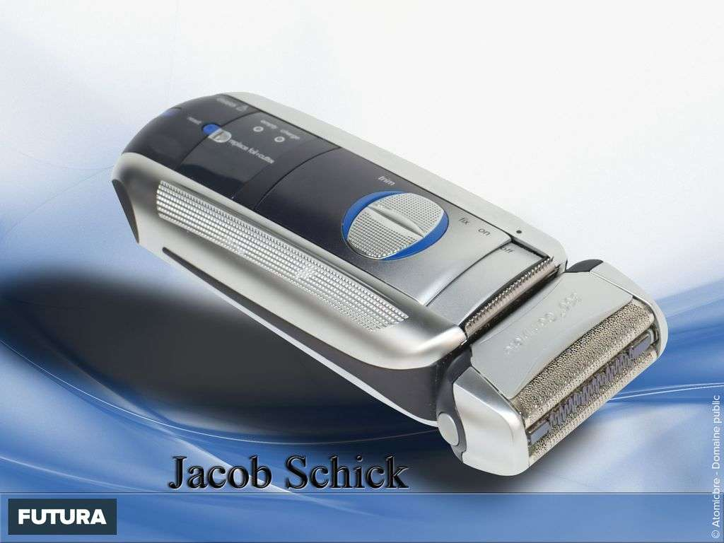 Premier rasoir électrique - Jacob Schick 1928