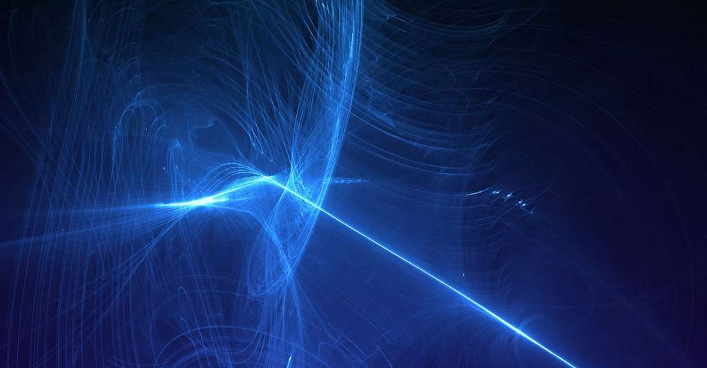 L'univers relativiste et l'espace-temps. © Rani Ramli, Pixabay, DP