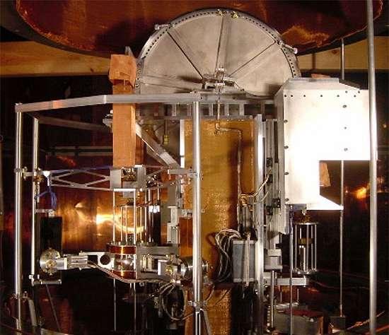 Ici, une balance de Kibble, encore appelée balance du watt. Un instrument qui permet de mesurer de manière très précise la masse d'un objet. © Richard Steiner, Wikipedia, CC by-SA 3.0