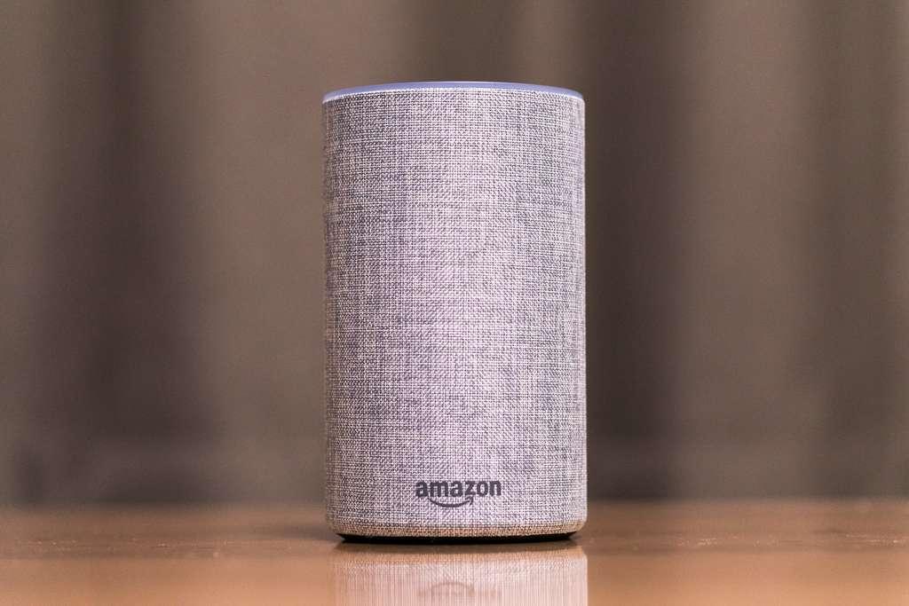 L'enceinte connectée Amazon Echo. © Norio Nakayama, Flickr