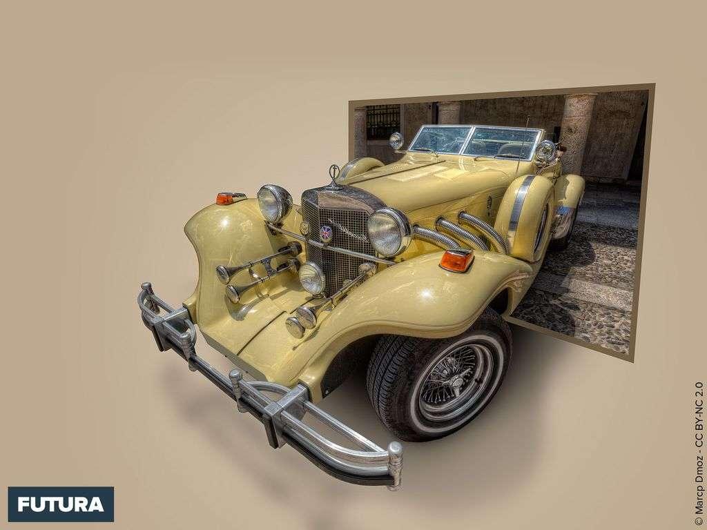Excalibur Classic Car - Sigüenza Espagne