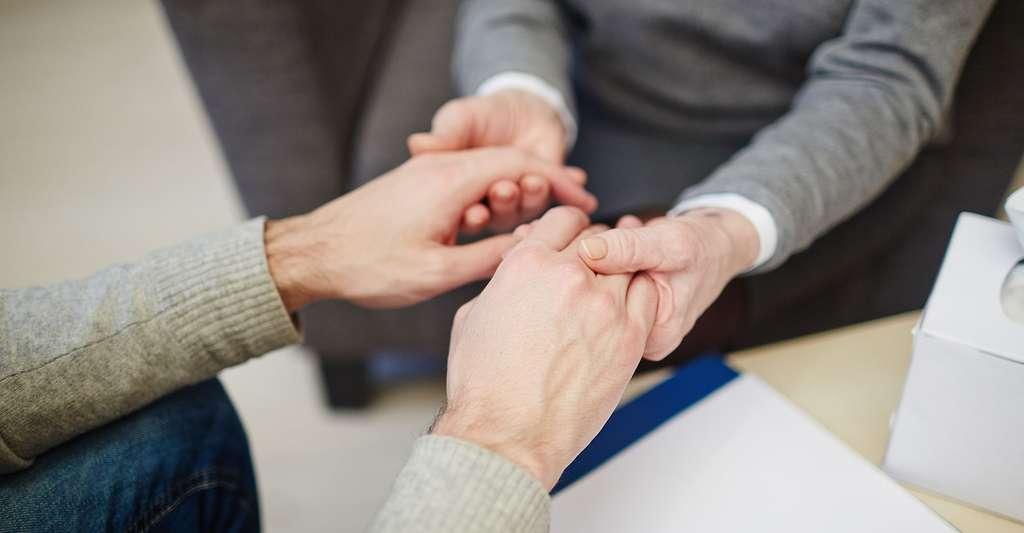 Donner un soutien aux dépressifs. © Pressmaster, Shutterstock