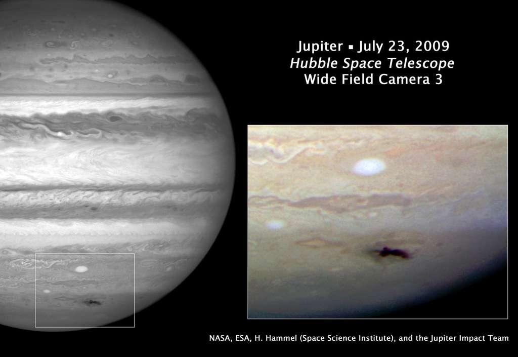 Impact sur Jupiter en 2009