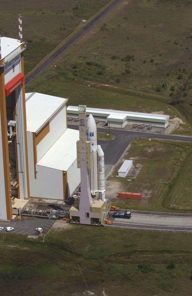 Transfert d'Ariane 5