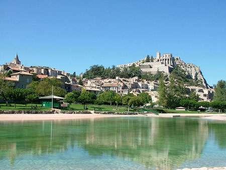 Sisteron, la perle de la Provence.