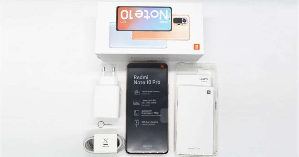 Le smartphone Xiaomi Redmi Note 10 Pro © AliExpress