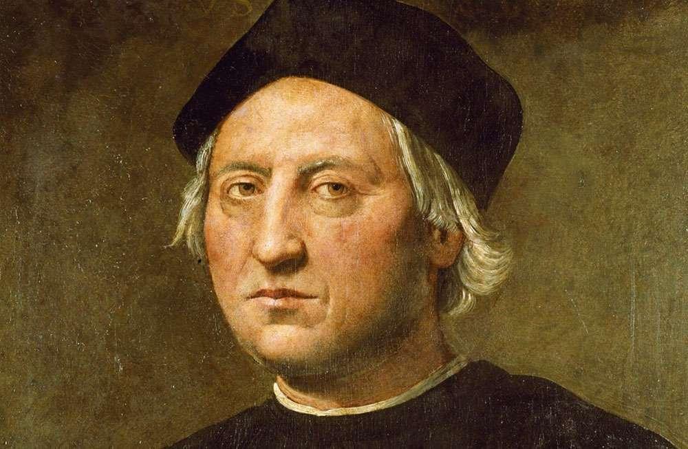 Portrait présumé de Christophe Colomb, attribué à Ridolfo del Ghirlandaio. (Ce portrait a été exécuté dans la première moitié du XVIe siècle, après la mort de Christophe Colomb.) © DieBuche, DP