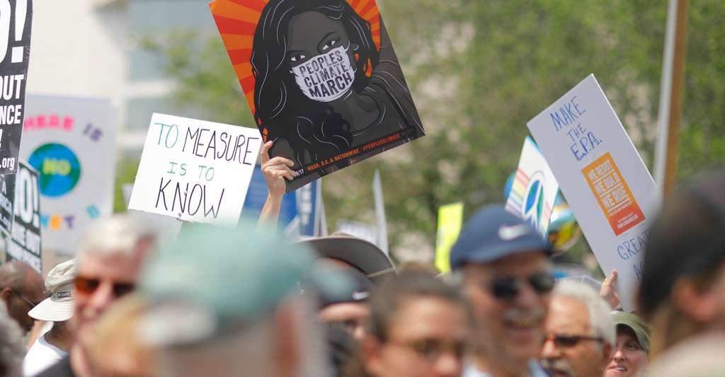 «L'hostilité affichée aux États-Unis vis-à-vis des politiques environnementales et climatiques est une anomalie», souligne Paul Romer, prix Nobel d'économie 2018. © The Climate Reality Project, Unsplash