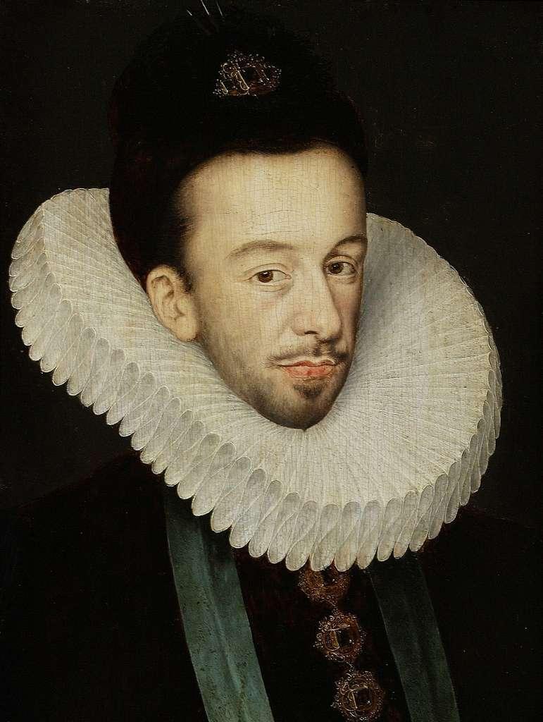 Portrait du roi Henri III par François Quesnel, après 1580. Musée national de Varsovie, Pologne. © Musée national de Varsovie, Wikimedia Commons, domaine public