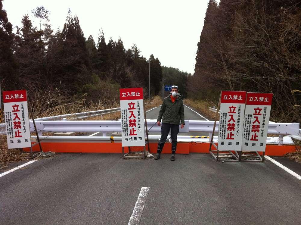 Les coulées de boue ont emporté les sédiments contaminés, loin de Fukushima. © DR