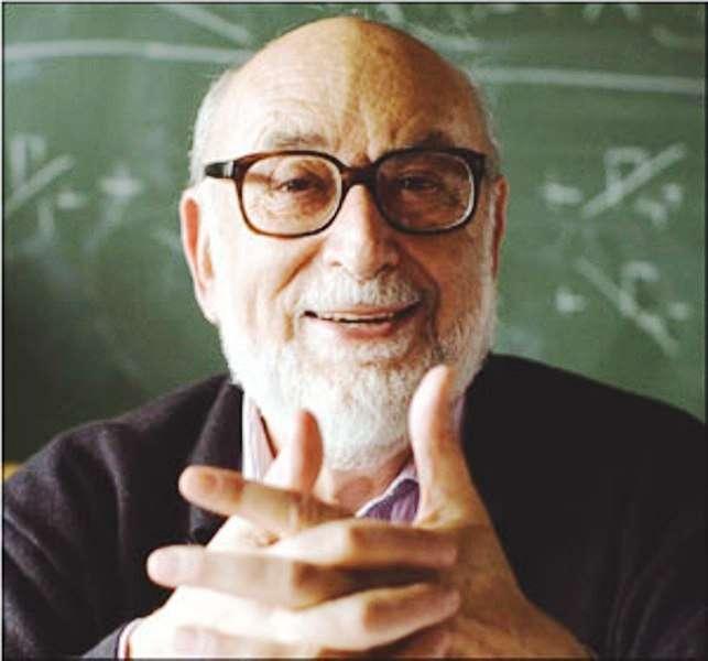 Le physicien colauréat du Prix Wolf, François Englert. © François Englert-Cern