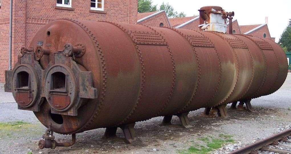 Ici, une chaudière à vapeur pour moteur stationnaire dans un musée du textile. © Stahlkocher, Wikipedia, CC by-SA 3.0