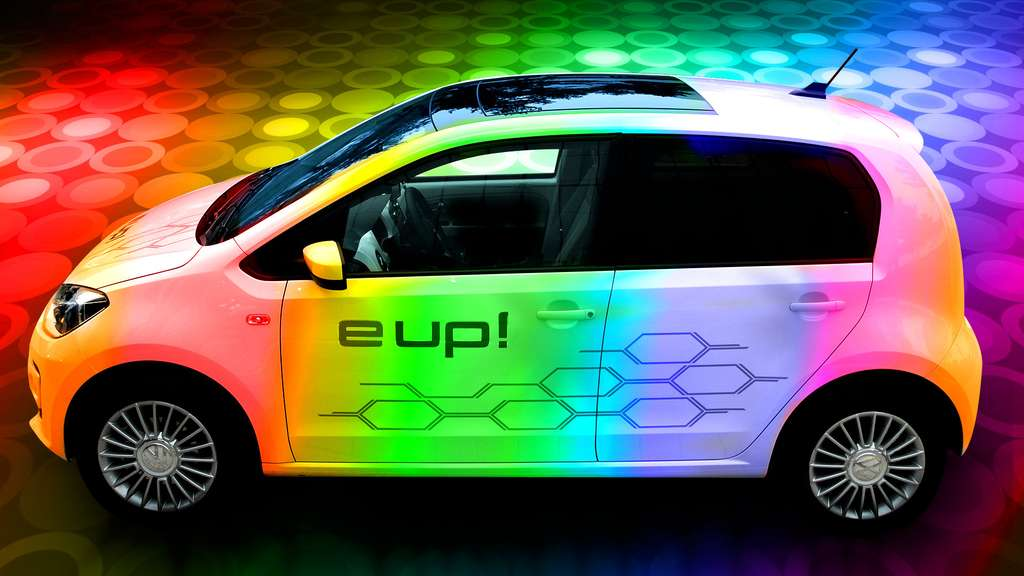 La Volkswagen e-Up