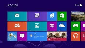 Pari risqué : la nouvelle interface de Windows 8 risque de bouleverser les habitudes des utilisateurs de l'ancien système d'exploitation. Futura-Sciences l'a testé pour vous. © FS
