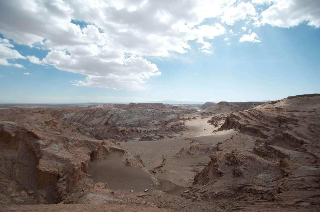 Le Valle de la Luna, une vallée lunaire au milieu de l'Atacama
