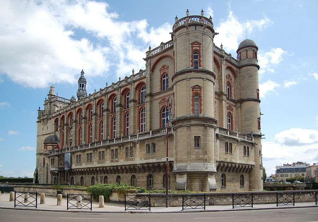 Le château de Saint-Germain-en-Laye abrite le Musée d'archéologie nationale. © KoS, Wikimedia Commons, GNU 1.2
