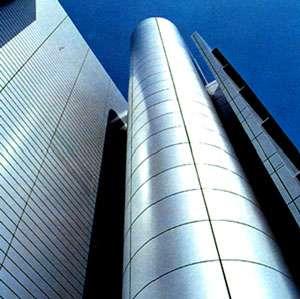 Immeuble en aluminium