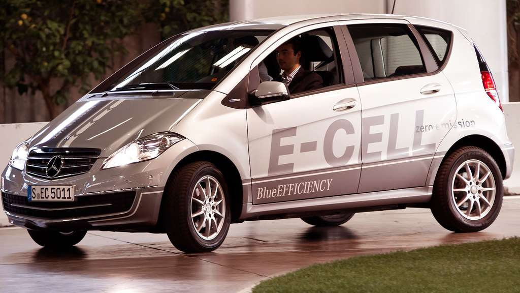 La Mercedes Classe A E-Cell