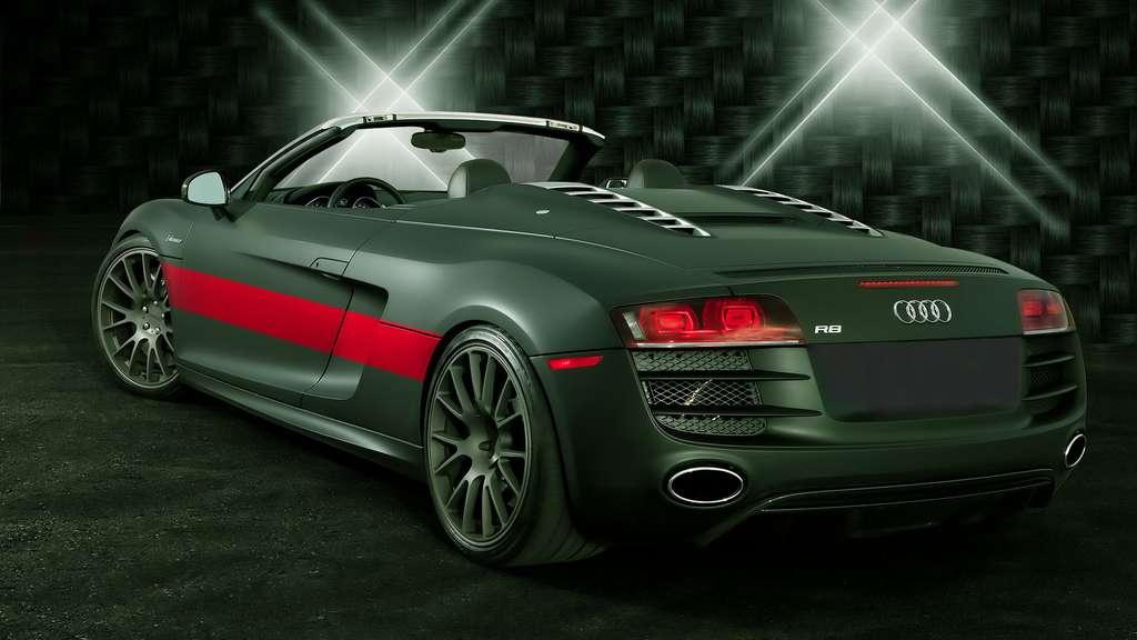 L'Audi R8 Spyder, un coupé sportif
