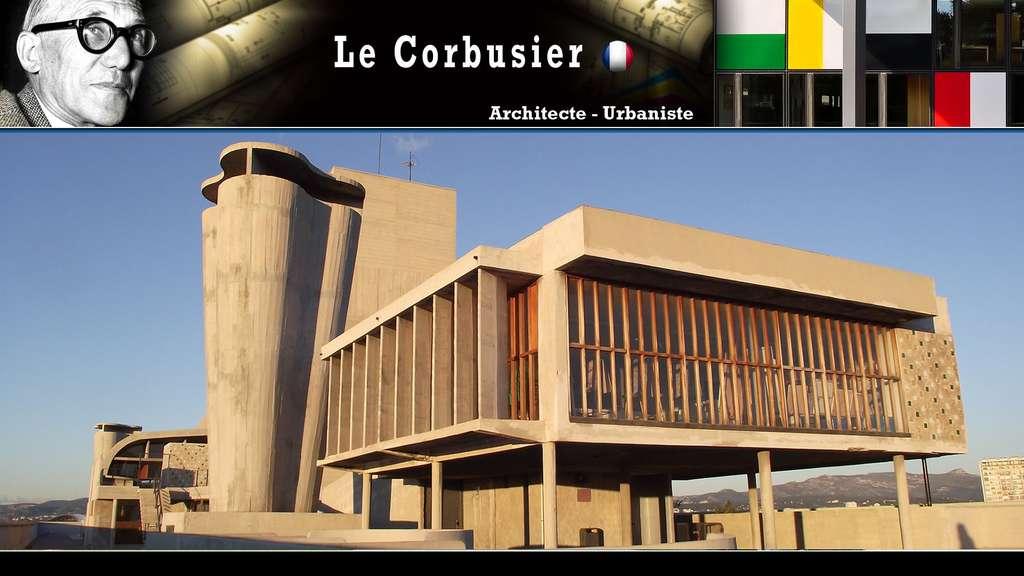 Le Corbusier : la Cité radieuse, brute de décoffrage