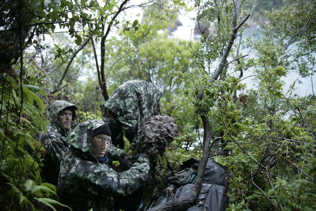 Camouflage à Taiji