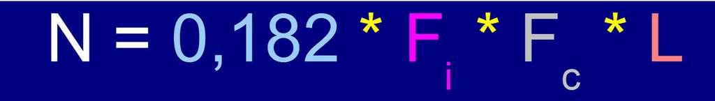L'équation de Drake avec une planète sur trois où la vie est apparue, version pessimiste. © DR