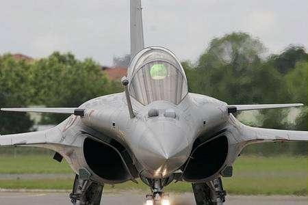 Le Dassault Rafale au Bourget. © Creative Commons