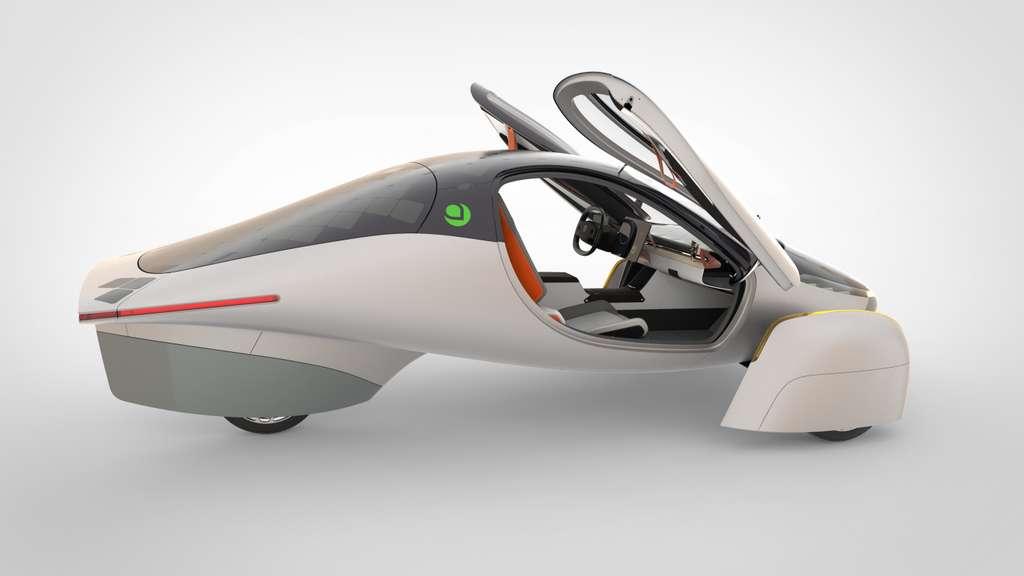 On se verrait sans problème au volant d'une Aptera. © Aptera Motors
