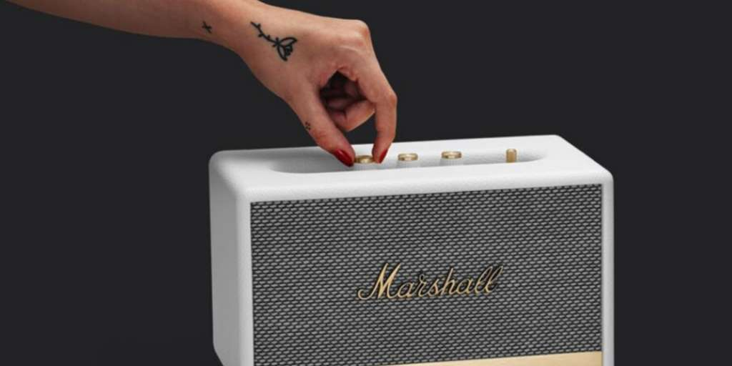 L'enceinte Marshall Acton, une enceinte puissante et robuste. ©Marshall