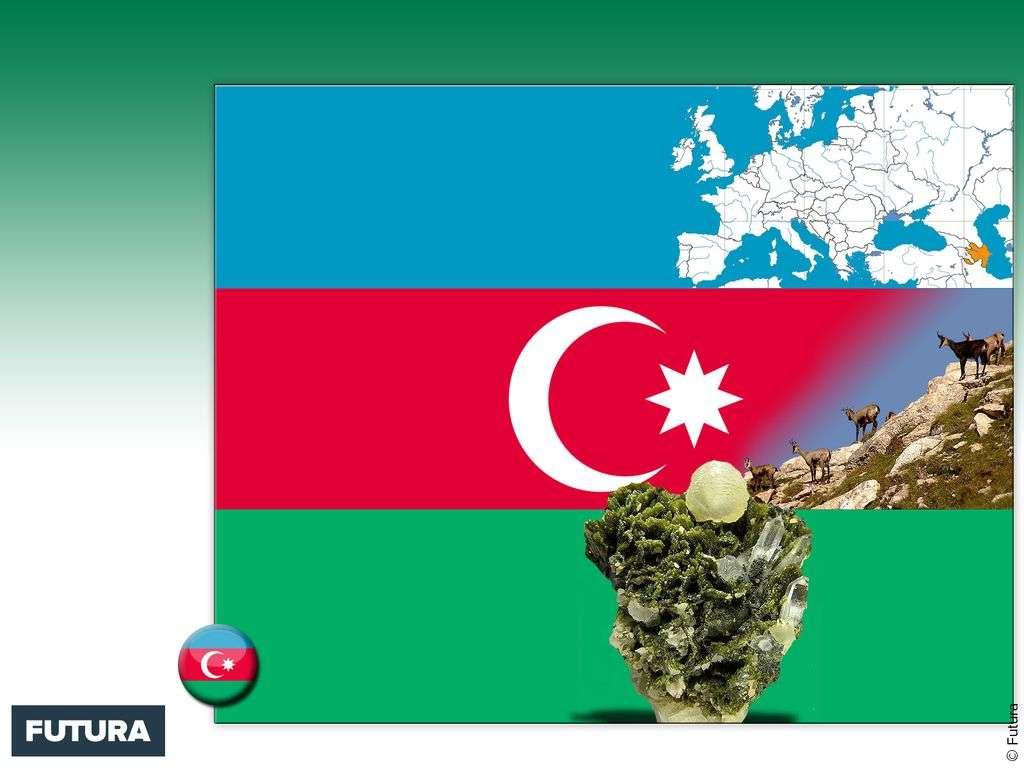 Drapeau : Azerbaïdjan