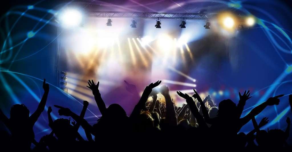 Lors de concerts, il faut se protéger les oreilles. © Stux, domaine public