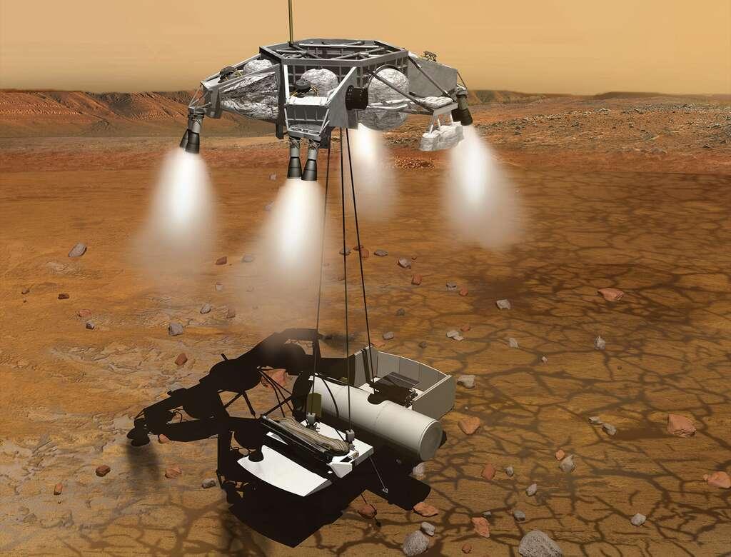Le rover Mars 2020 donnera le coup d'envoi de la mission internationale de retour d'échantillons martiens. © Nasa, JPL-Caltech
