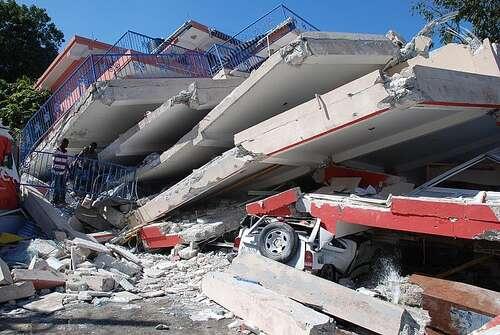 Le séisme en Haïti avait fait 250.000 morts, auxquels il faut maintenant ajouter les victimes de l'épidémie de choléra. © IFRC, Flickr, CC by-nc-nd 2.0