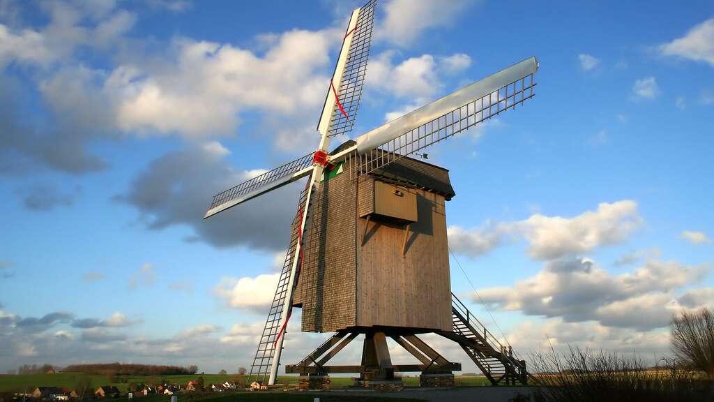 Le moulin de la Marquise, Moulbaix, Belgique